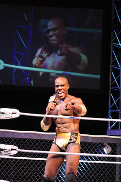 Patrick Byas in The Elaborate Entrance of Chad Deity.