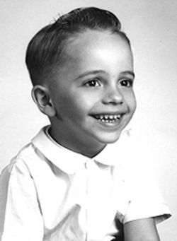 The early years: Tancredo at his most adorable.