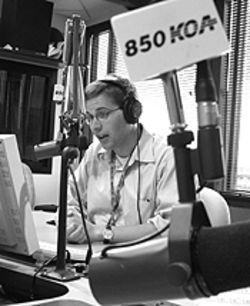 Alex Stone is a young radio veteran.