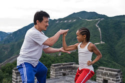 Jackie Chan and Jaden Smith star in The Karate Kid