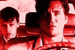 Driving him crazy: Noah Fleiss and Val Kilmer in Joe the King.