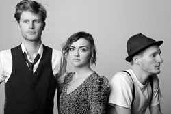 Everything is illuminated: Wesley Schultz (from left), Neyla Pekarek and Jeremiah Fraites are the Lumineers.