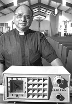 Father Eustace Sequeira is ready to heed the Lord's  call-in about Catholic radio.