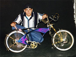 As a young teen, Nando Mondragon was into lowrider bikes.