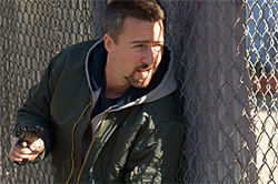 Edward Norton is a cop with a conscience in Pride and Glory.