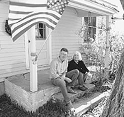Jeff and Connie Lehman sought small-town life in  Elizabeth, now a bedroom community for commuters.