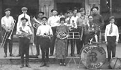 Murphy's grandfather's band.
