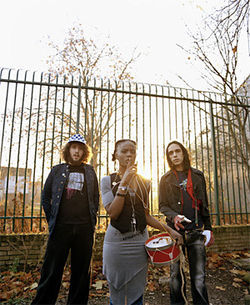 The Noisettes lead a not-so-quiet riot.