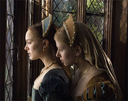 Natalie Portman and Scarlett Johansson are rivals for a king's love in The Other Boleyn Girl.