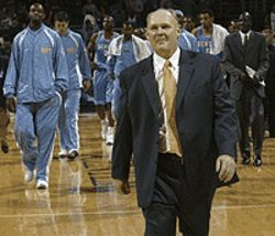 Coach George Karl may not be smiling once the All- Stars leave Denver.