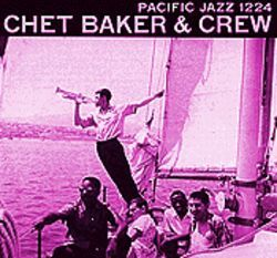 The music was flowing: Phil Urso is in the lower right corner on the cover of this Chet Baker album.