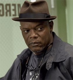 Samuel L. Jackson cops an attitude in the dismal  Freedomland.