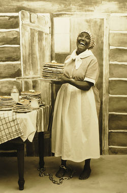 """Aunt Jemima,"" by Sally Stockhold, staged photo."