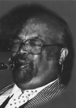 Saxophonist Red Holloway.