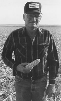 George Jenik, outstanding in his field.