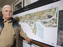 Charles McKay has big plans for his Candelas development — if the beltway's completed.