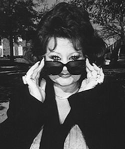 The eyes have it: Tammy Faye Bakker-Messner.