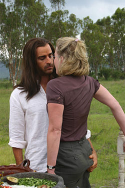 Which commandment are Justin Theroux and Gretchen Mol guility of breaking?