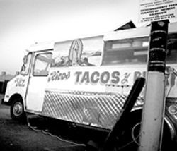 Romulo&#039;s King Taco was one of the first loncheras in town.