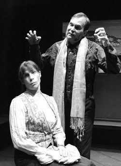 Lisa Mumpton and Stephen R. Kramer in Under Milk Wood.