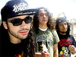 Shawn Chavez (from left), Dave Sanchez and Jesse De Los Santos are Havok.