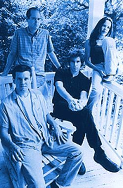 Packed with peanuts: It seems Superchunk thinks ten years in the business is nothing to smile about.