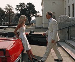 Driving her crazy: Sienna Miller and Daniel Craig in    