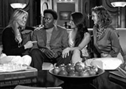 The truth about Charlie: Bernie Mac and Angels  Cameron Diaz, Lucy Liu and Drew Barrymore.