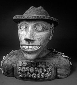 Mud brother: The many faces of Colorado Clay go on  display Friday at Foothills Art Center in Golden.