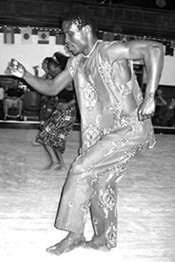Africa dances: Boulder's African emigré community  shares its culture this weekend at the African Festival  2003.