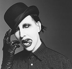 Let Marilyn Manson rain on your post-election blues,  Wednesday at the Fillmore Auditorium.