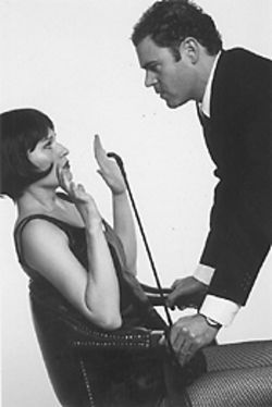 Karen LaMoureaux and Augustus Truhn in Communicating Doors.