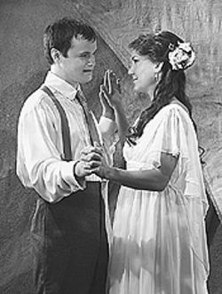 Stephen Louis Grush and Katrina Kuntz in Romeo 