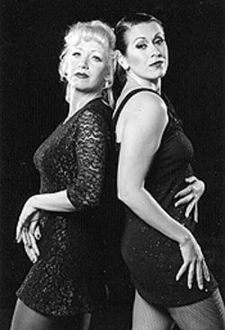 Joanie Brosseau-Beyette (left) and Alicia Dunfee star  in Chicago.