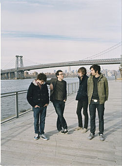 Tokyo Police Club in a New York state of mind.