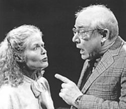 Carol Elliott and Ed Baierlein in Another Antigone.