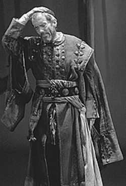 John Hutton in The Merchant of Venice.