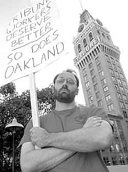 Union leader Sean Holstege believes that Dean Singleton's Bay Area papers fund the Denver Post.