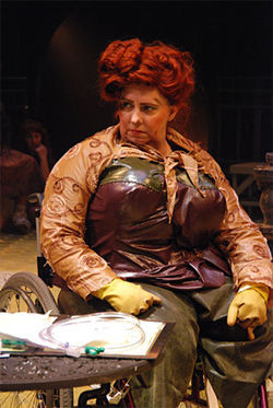 Kathleen Traylor in Urinetown, the Musical.