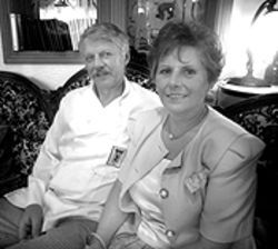 Bear country: Owners Hans and Annalies Wyppler honor tradition at the Black Bear Inn.