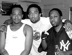 Now making solo records, Phife Dawg (center) is a fixture in the dog-eat-dog world of hip-hop.