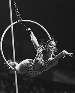 The performers still rule in the Moscow State Circus.