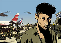 Ari Folman&#039;s Waltz With Bashir takes an animated look at war.