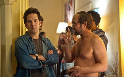 Paul Rudd and Joe Lo Truglio star in Wanderlust.