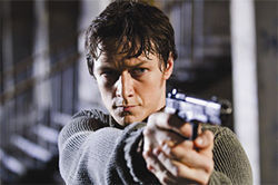 James McAvoy is a born assassin in Wanted.