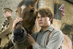 Jeremy Irvine stars in War Horse.