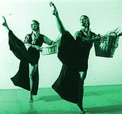 Carry on: Members of the Helander Dance Theater do Tibetan traditions their way.