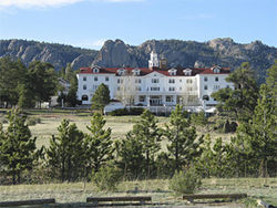 The Stanley Hotel plays a supporting role in The Shining.
