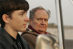 Matthew Beard and Jim Broadbent have strained relations in When Did You Last See Your Father?