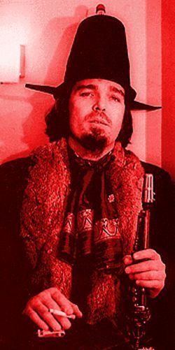 Silly hat? What silly hat?: Don Van Vliet is Captain Beefheart.